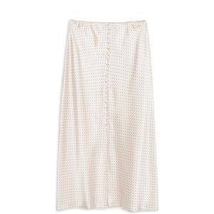 Topshop satin mini skirt